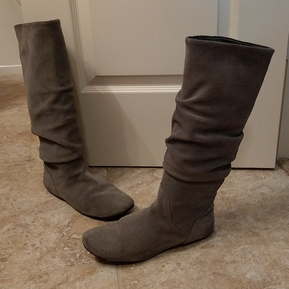 agencia Lo siento País de origen  Steve Madden Shoes | Steve Madden Tianna Grey Boots Real Suede | Poshmark